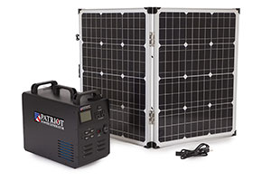 patriot generator power solar 4patriots patriots 1500 food powered bank ppg panel survival charger water cord panels 1800 gen kits